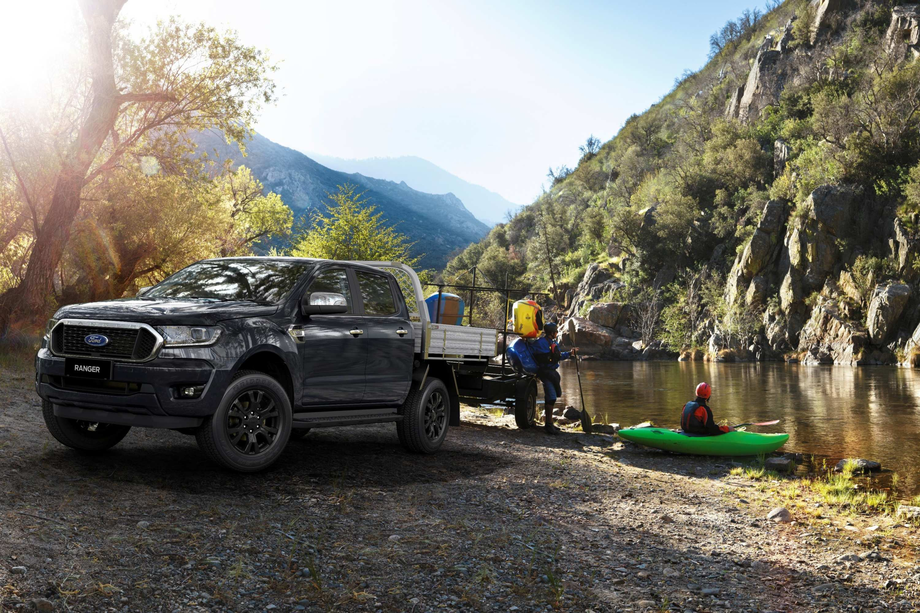 2020 Ford Ranger 4x4 XLT Double Cab Chassis lifestyle