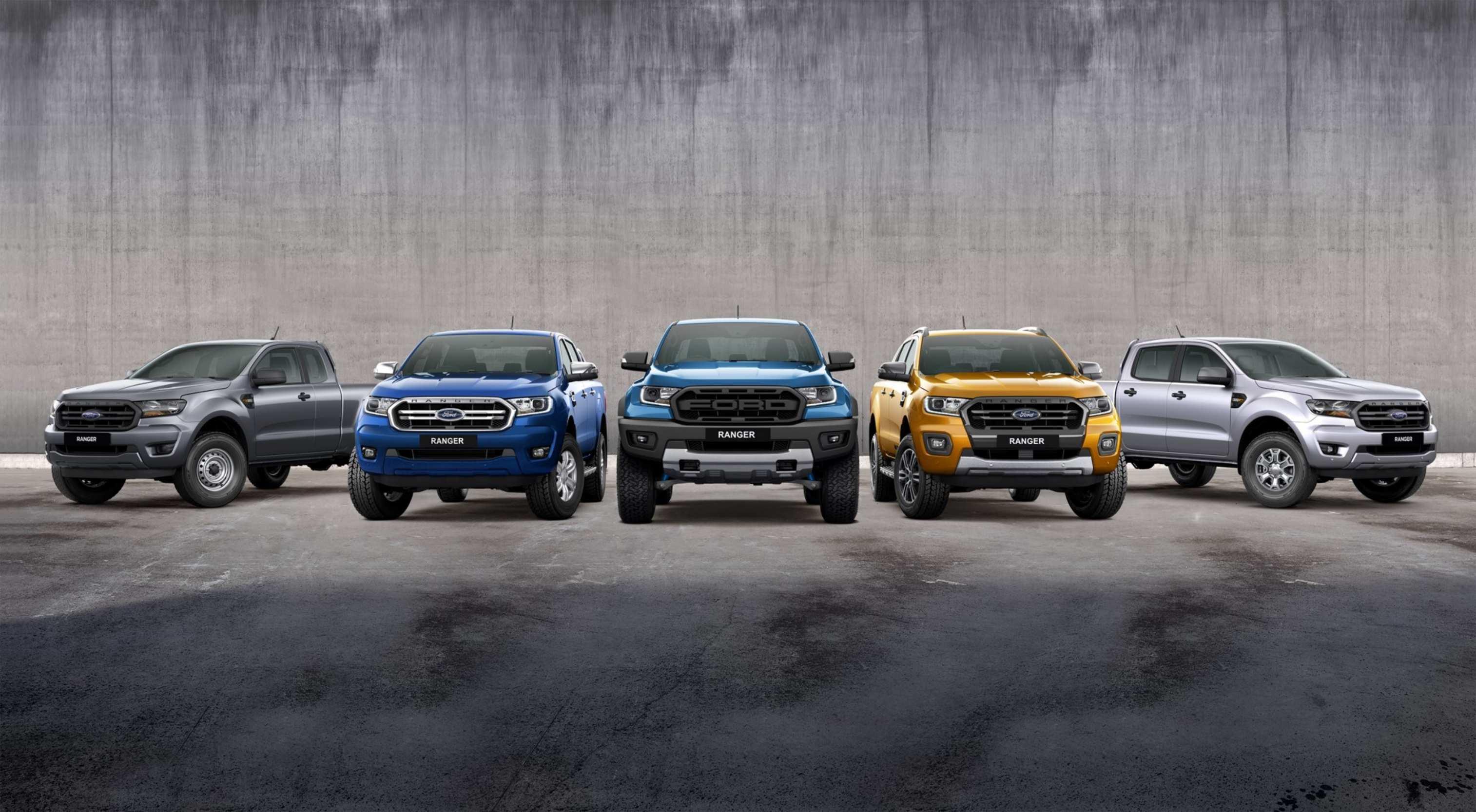 2020 Ford Ranger Range