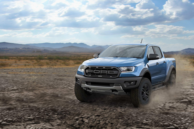 2020 Ford Ranger Raptor front