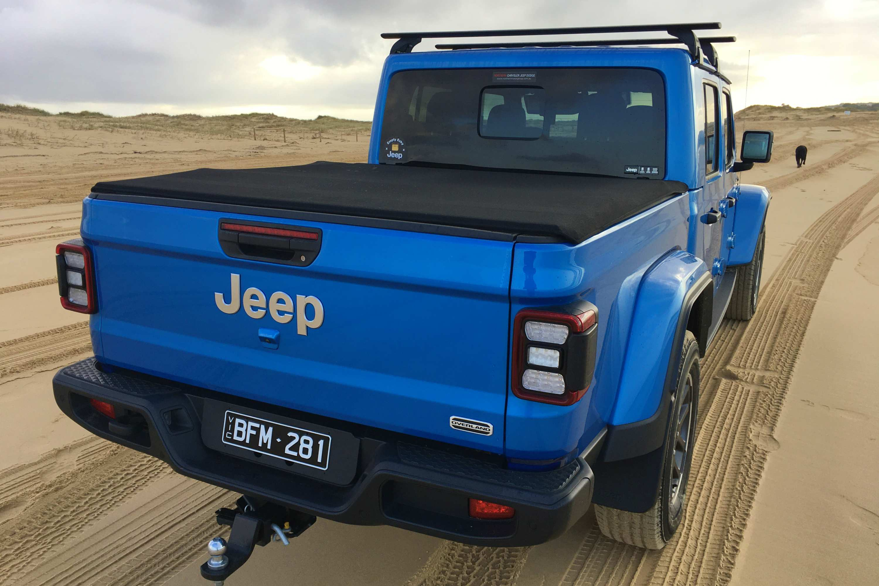 Jeep Gladiator Overland 4WD Ute rear 2