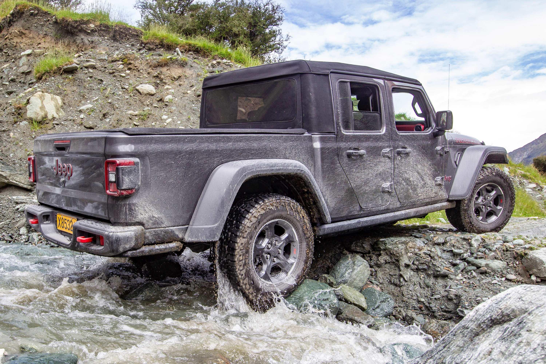 Jeep Gladiator Rubicon 4WD Ute rampover