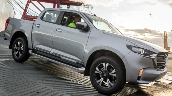 MAZDA BT-50 arrives in Australia
