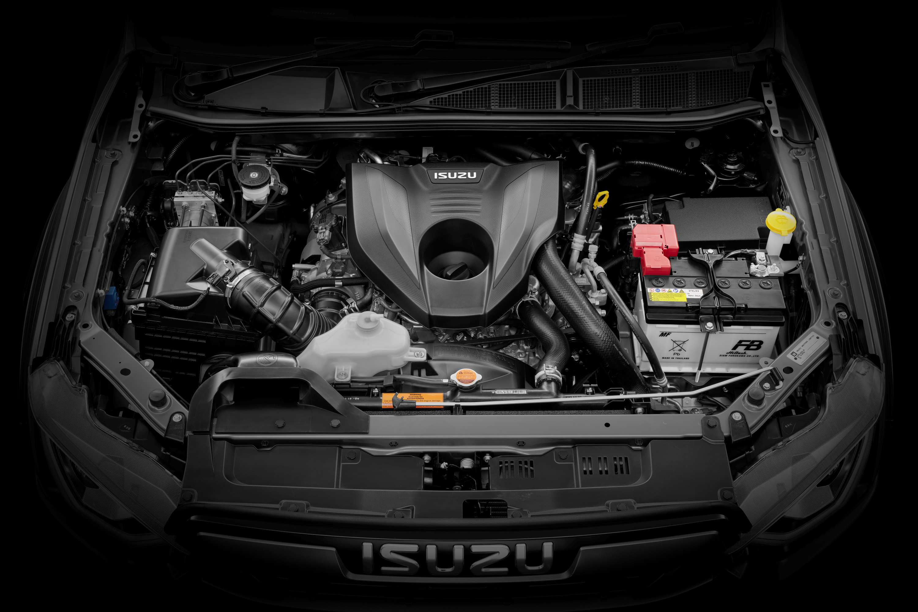 Isuzu D-MAX 21MY Engine Bay