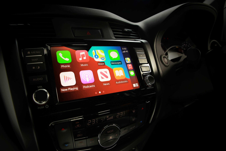 2021 Nissan Navara Update 1 Pro 4x interior
