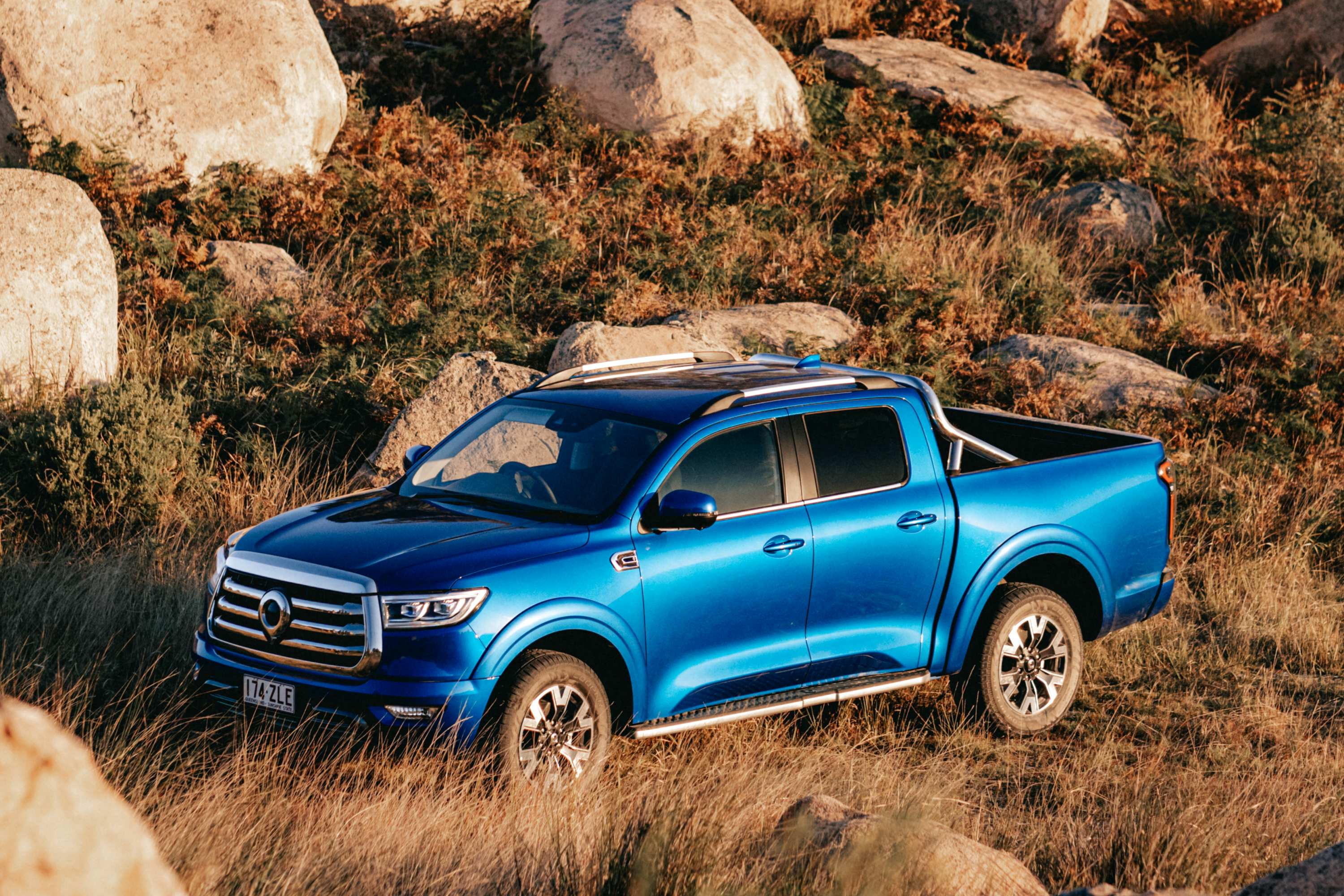 GWM Ute, newly designed and engineered from the ground-up.