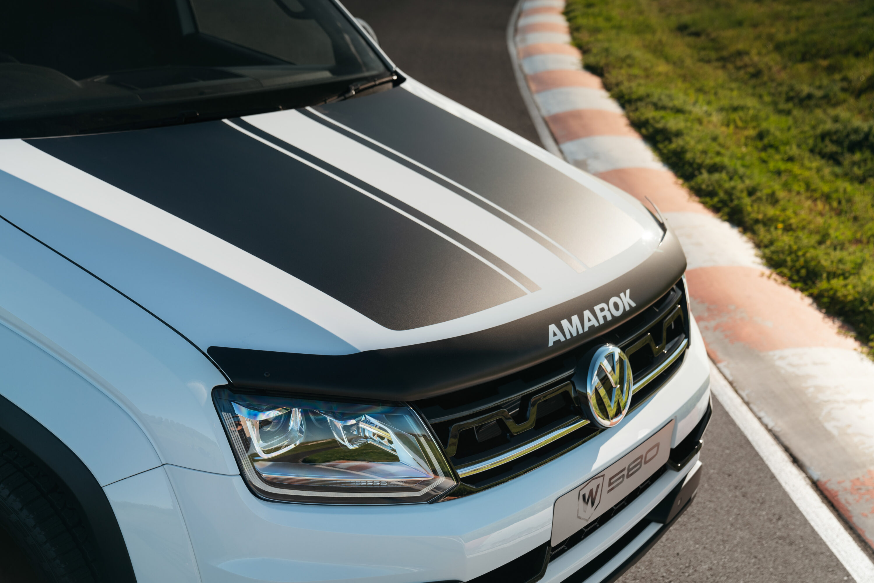 Amarok W580 pre-production prototype.