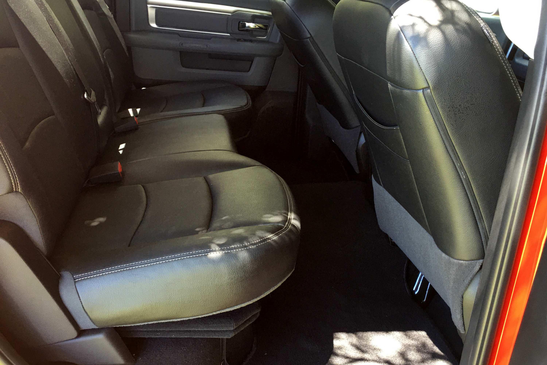 RAM 1500 Warlock rear seats