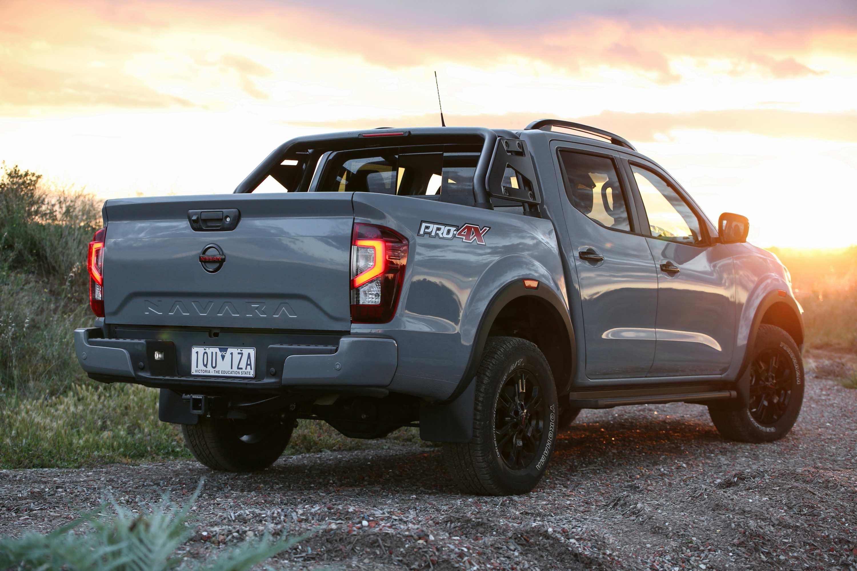 2021 Nissan Navara Update 1 Pro 4x rear