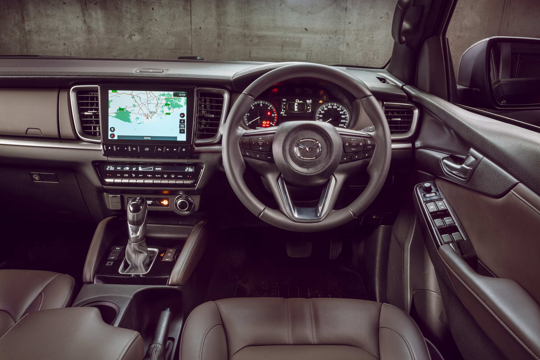 2021 BT50 THUNDER interior