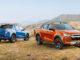 21MY ISUZU D-MAX Mountain Dual 4x4 X-TERRAIN Cobalt Blue Volcanic Amber.