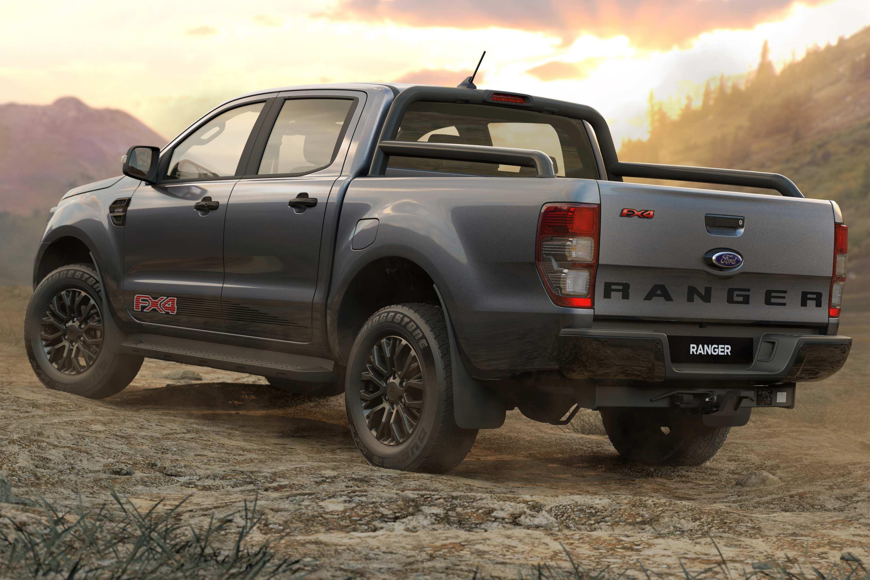 2021 Ranger FX4 rear