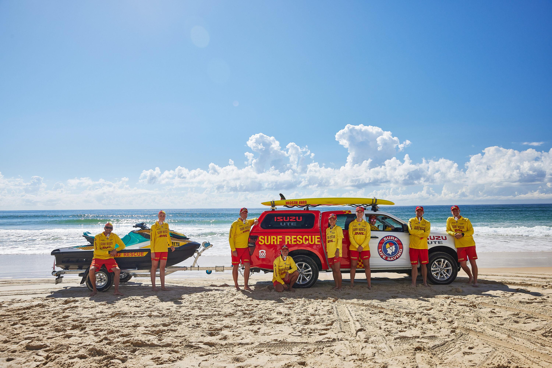 Isuzu UTE Australia Partners With Surf Life Saving Australia