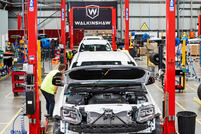 Walkinshaw-tuned W-Series V6 Amaroks begin rolling out of Clayto