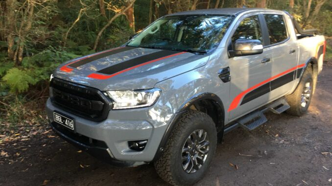2021 Ford Ranger FX4 front qtr