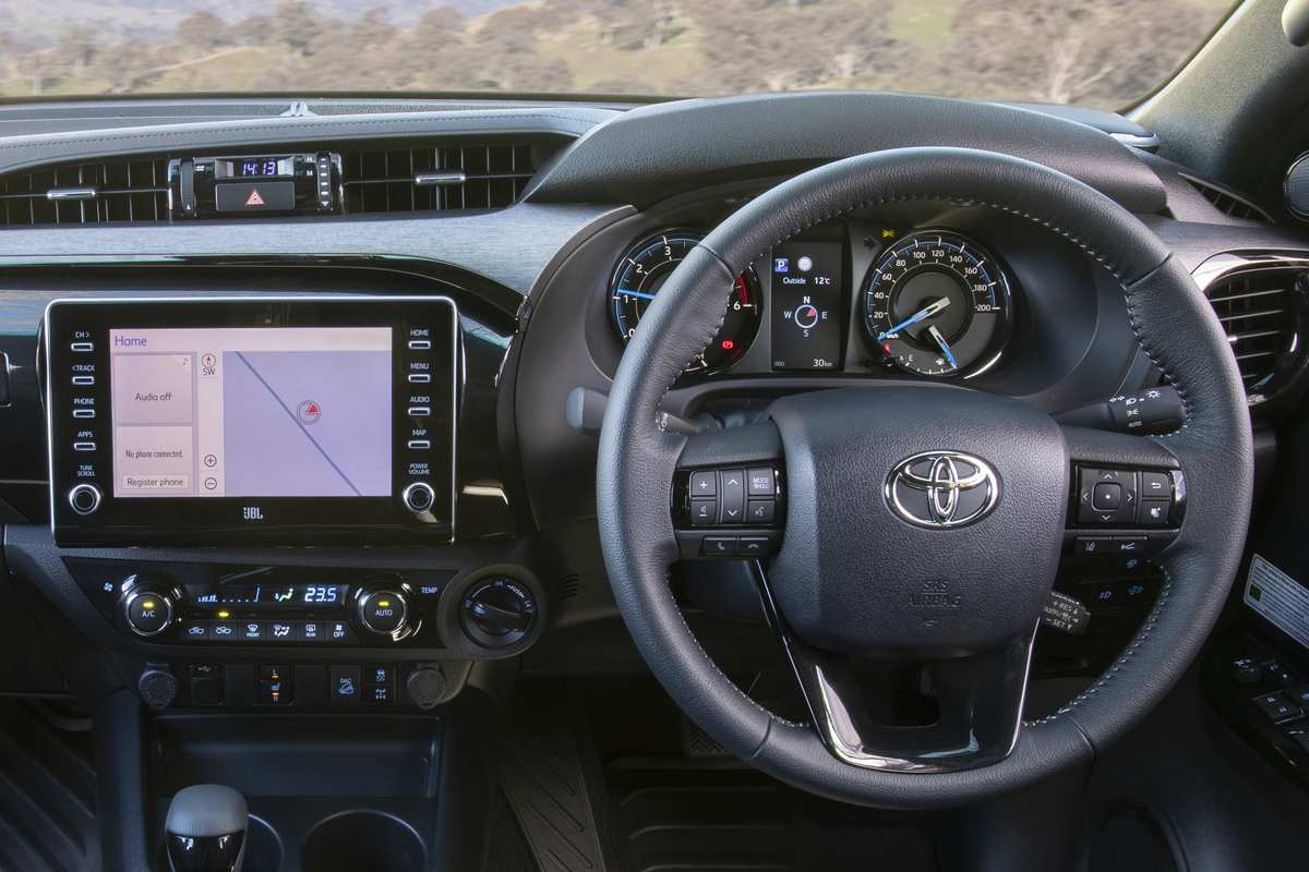 2021 Toyota HiLux Rugged X Features