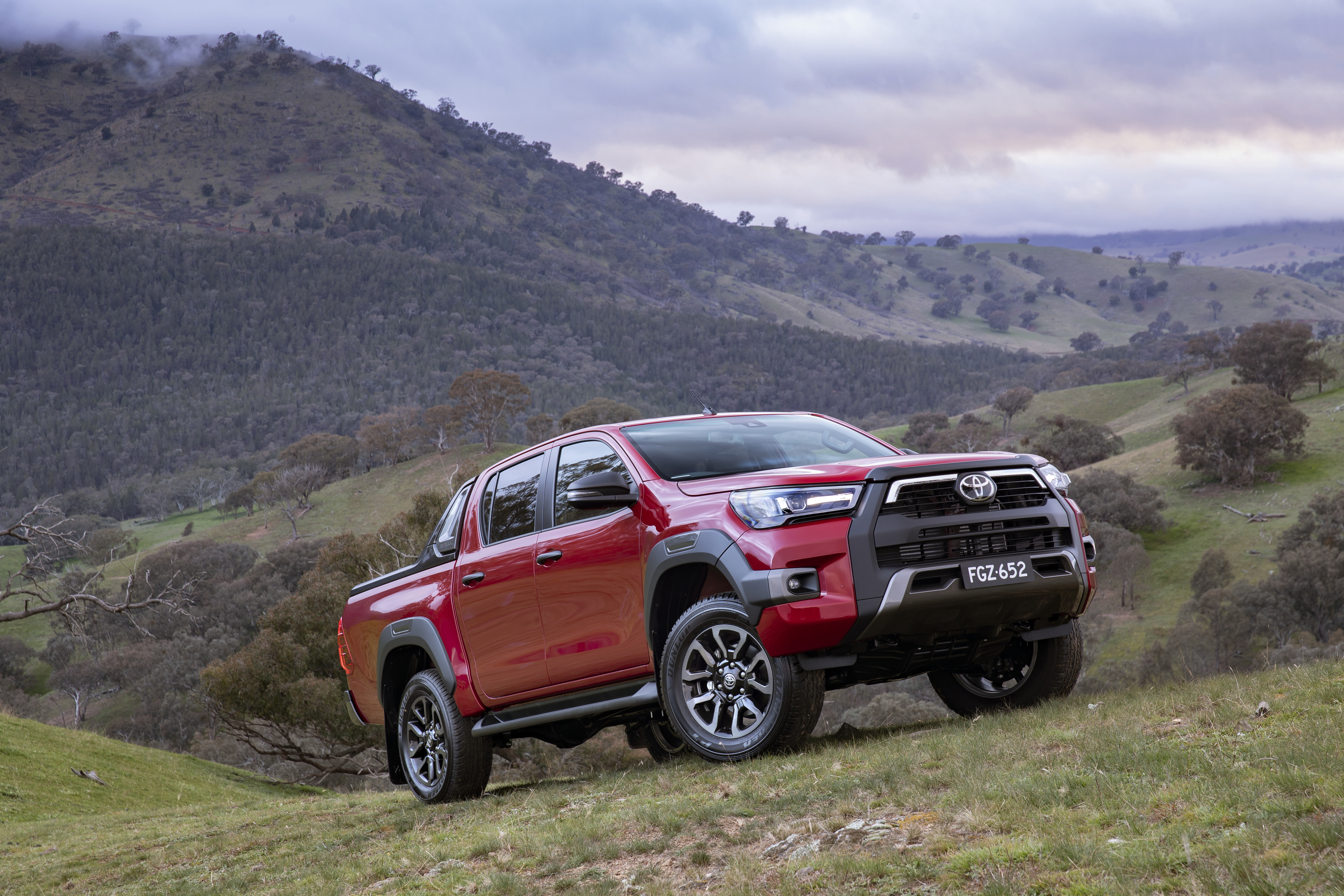 2020 Toyota HiLux Rogue.