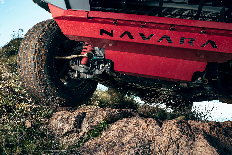 Nissan Navara PRO 4X WARRIOR suspension 2