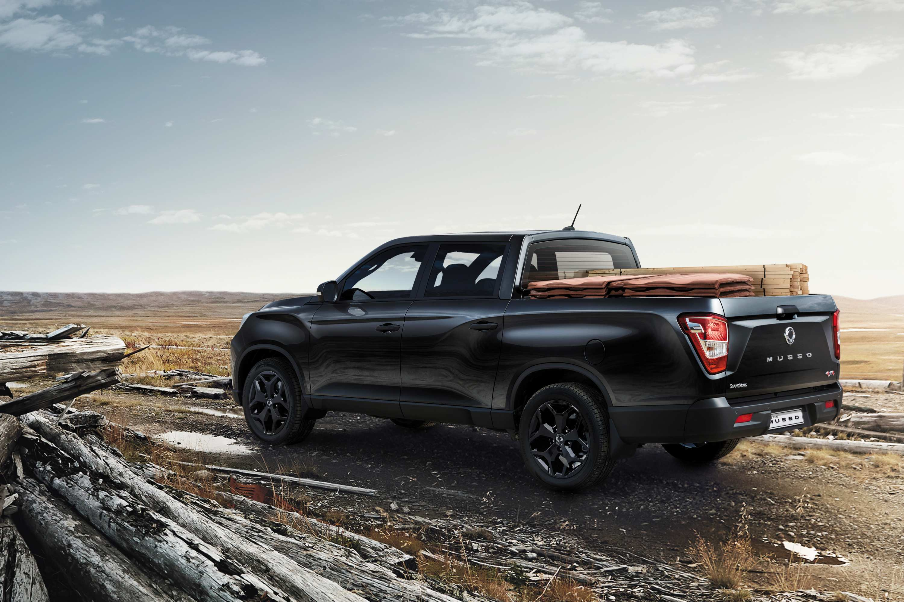 2021 Musso 4x4 dual cab Ute with a striking new front end design, new wheel designs and rear LED lighting.