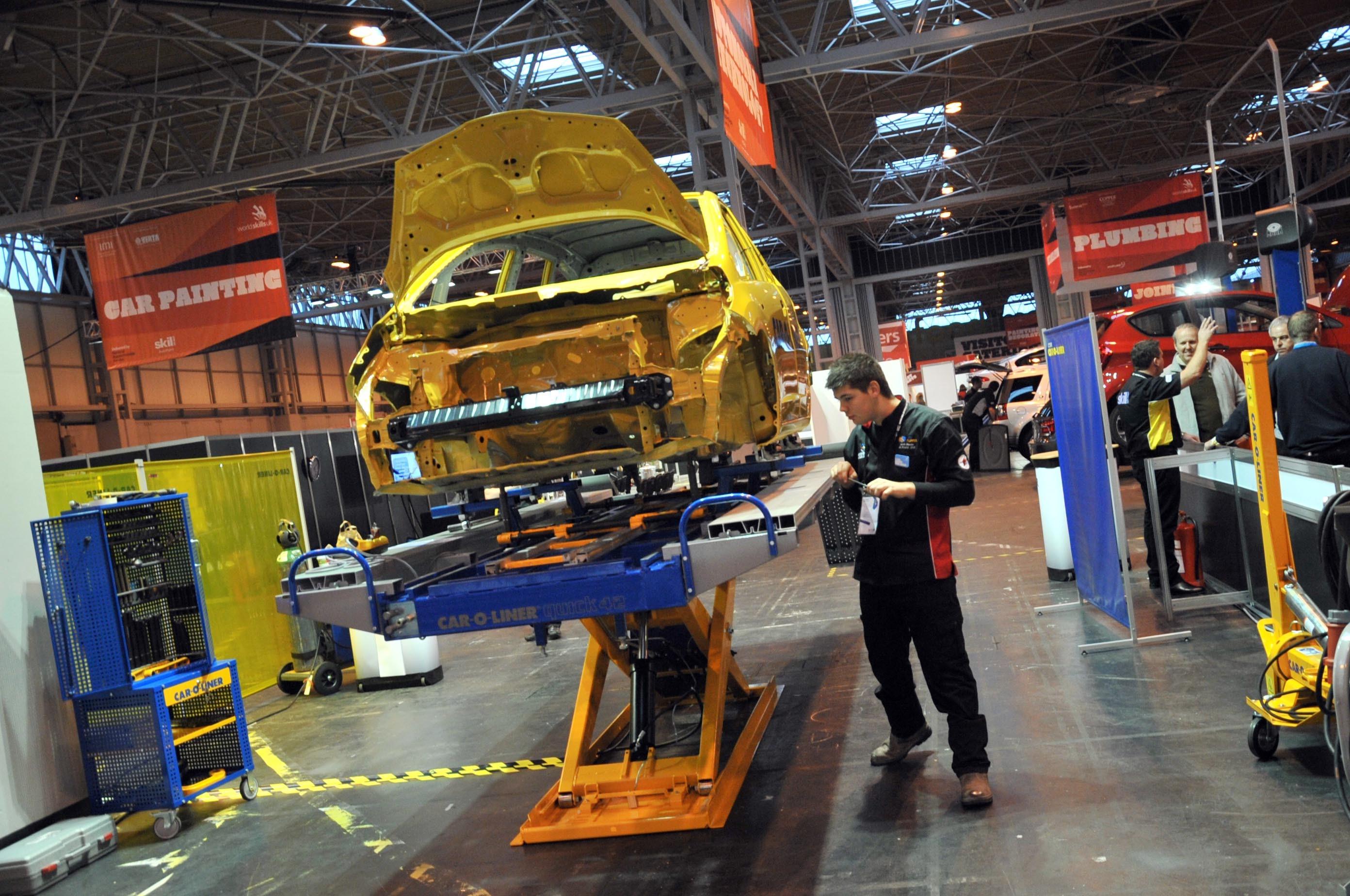 WorldSkills UK Skills Show Engineering Automobile Technology