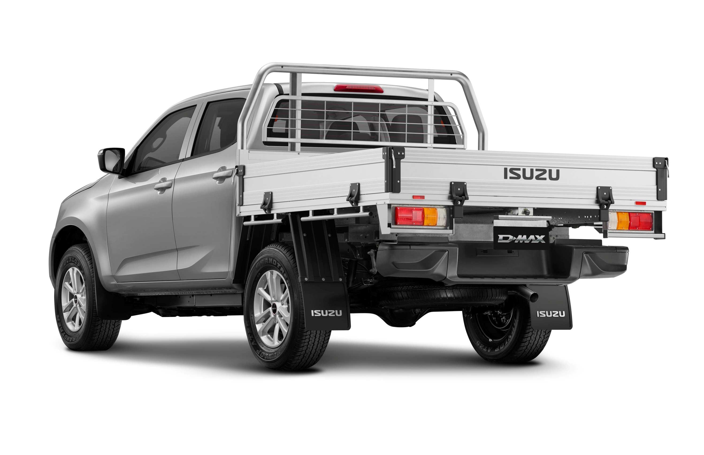 22MY Isuzu D-MAX 4x4 LS-M Crew Cab Chassis Heavy Duty Alloy.